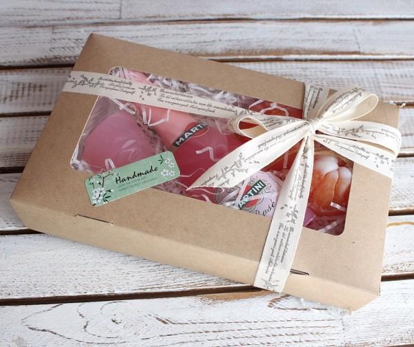 Подарочный набор мыла ручной работы Мартини Milotto арт.004240 - фото 1