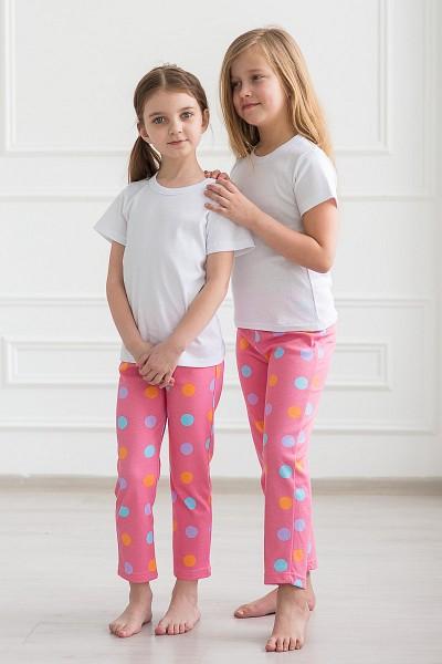 Брюки детские Пижамные интерлок - фото 1