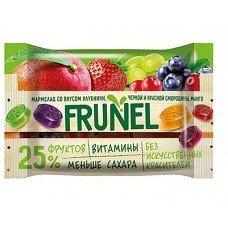5 ШТ -- «Frunel», мармелад со вкусом клубники, чёрной и красной смородины, манго, винограда, 40 гр.