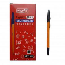 Ручка шариковая КЛАССИКА чёрная РШ-3161