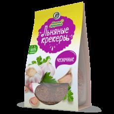 Крекеры льняные с ЧЕСНОКОМ, 50 г