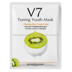Витаминная маска BIOAQUA из серии V7 с экстрактом киви 30 гр.