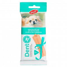 Зубное Лакомство Снек DENT с говядиной для мелких собак 2827АГ