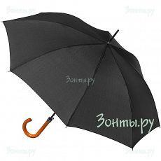 Черный зонт-трость Magic Rain 14004
