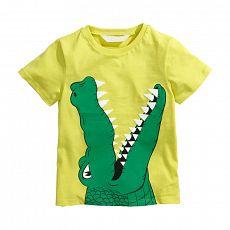 Футболка для мальчика с крокодилом Litlle Maven E6645