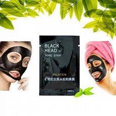 Черная маска для удаления Чёрных Точек Black Mask PILATEN 6гр