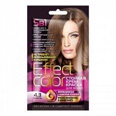 Effect Сolor Cтойкая крем-краска для волос тон шоколад, 50 мл